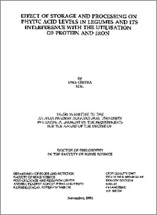 pdf thesis in chickpea